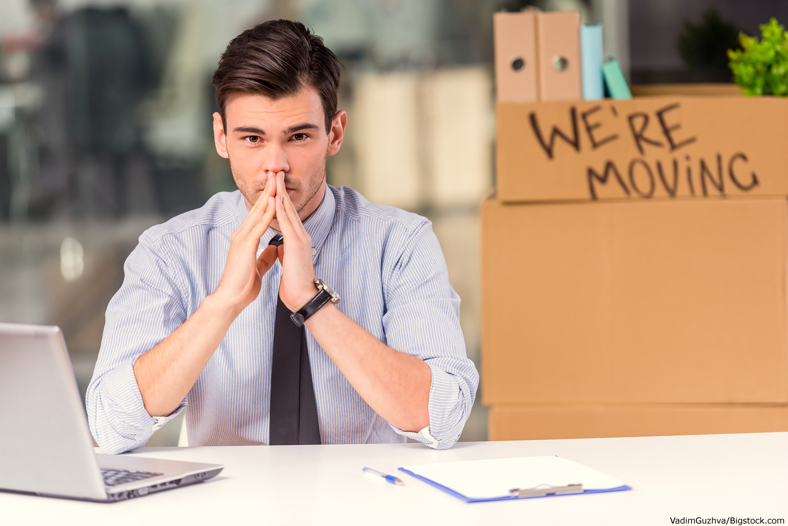 employee nervous about moving offices